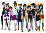 ALL THE FANTROLLS by PrincesTomboy