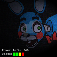 [YCH] Check Your Camera - TOY BONNIE (FREE ICON) by CassMutt