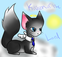 Kitten of The Lord by deathdiva54268