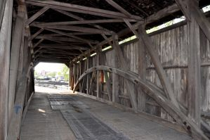 Lancaster Covered Bridge 5 by FairieGoodMother