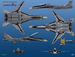 IFX-25R Mark I Advance Archer by haryopanji