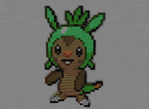Chespin by PkmnMc