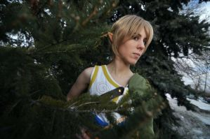 Ordon Village Link at Anime Detour 2011 by thatbloodypirate