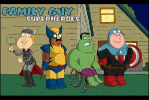 Family Guy Supers by adsta