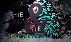Crow and the Butterfly by sjhorm