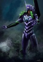 Evangelion Unit-01 by doneplay