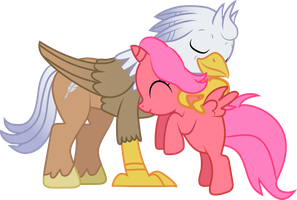 Cherry Bloom - Silver Quill - Pony Hug by Creshosk