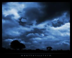 evening weather storm by bosniak