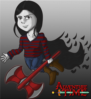 FanArt - Marceline Color by Argen-Amla