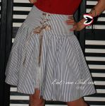 Striped skirt by zeloco