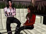 ariellovejackson and michael 2 by countrygirl16mj