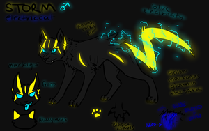 New Storm Ref by ElectricUmbreon