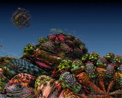 MacroFractal Vegetation by love1008