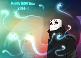 ((---Happy New Year 2014~!---)) by Drawotion