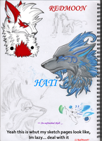Sketch page of death hurr by RedMoon97
