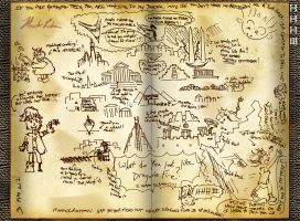 Hiccup's Journal - What does DragonsFire Look Like by masterrohan