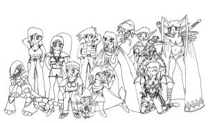 PTK - the cast c. 2004 by GeneralTekno
