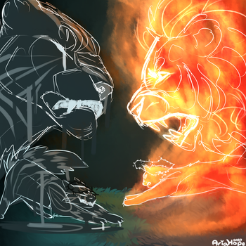 Tiger Fire FGHT by Aria-Hope