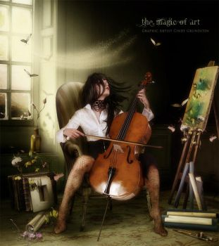 The Magic Of Art by CindysArt