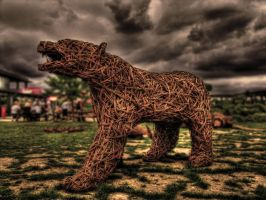 Bronze Bear by gordoncarroll
