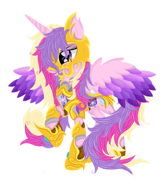 The Defender of the Crystal Empire. by Law44444