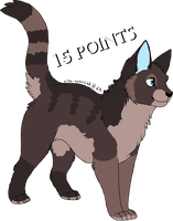 Cat Adoptable 2. CLOSED by MichelsAdoptions