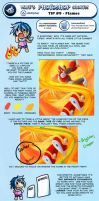 Photoshop Short 9 - Flames by suzuran