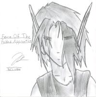 The Face of Young Xar by Draxen