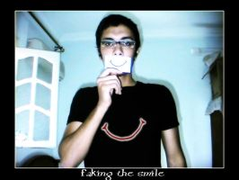 faking_smile by moro003