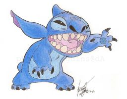 Stitch by toastypenguins