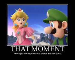 Smash Bros demotivational: That moment... by Pikachugirl345