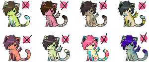 Wing Kitten Pack: CLOSED by Sergle