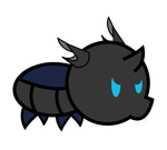 Paper Changeling Larva by Sonic-chaos