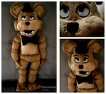 Handmade Five Nights at Freddy's Plushie - Freddy by HipsterOwlet