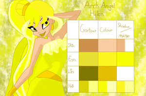 Arch Angel Helen palette by musasgal