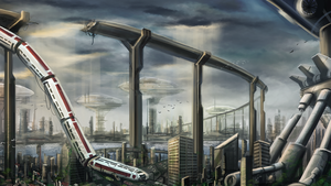 Once Proud City by SolMatter