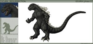 Gojira Phase 2 Resurrection by hypergojira