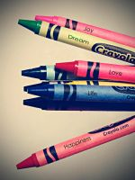 Crayons by mcbadshoes