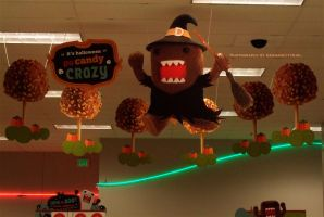 Domo-kun Halloween 008. by GermanCityGirl
