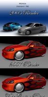 2002 Honda Insight Revisited by ragingpixels