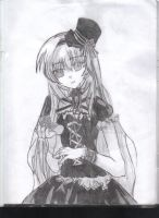 Girl in Top Hat by bnt1294