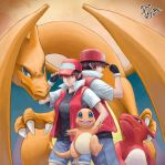 Pokemon Red M/F Fanart by maxmail25196