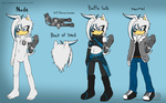 Neox Ref Sheet by shadyever