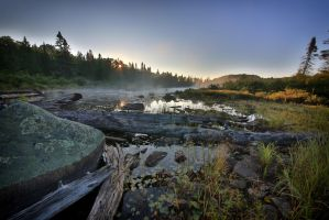 Algonquin Early Morning by GreyVolk
