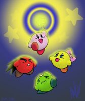 Kirby Forever by AndrewDickman