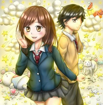 Ao Haru Ride by VectorIV