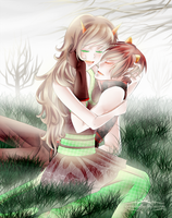 HOMESTUCK: The Sufferer and Disciple by liferaven