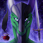 Icon Comish - Two Sides of the Coin by TwilightSaint