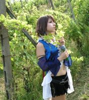 Yuna cosplay songstress by ange-lady-yunashe
