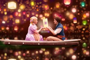 At last I see the light- Rapunzel and Flynn by BrittanyAnnxOx